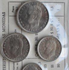 Monedas Juan Carlos I: CARTERA OFICIAL SERIE NUMISMATICA MUNDIAL 82 AÑO 1980 ESTRELLA 80. Lote 142152030