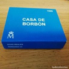Monedas Juan Carlos I: 2000 PESETAS CASA DE BORBON FERNANDO VII 1998 OCHO REALES PLATA . Lote 142988054