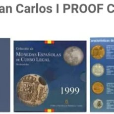 Monedas Juan Carlos I: CARTERA FNMT 1999 JUAN CARLOS I. Lote 143017185