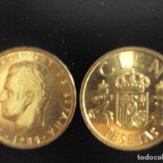 Monedas Juan Carlos I: MONEDA 100 PESETAS JUAN CARLOS I 1984 SC DE CARTUCHO FNMT.PTAS. NUEVA. Lote 143082518