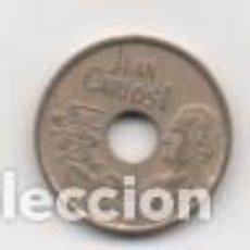 Monedas Juan Carlos I: MONEDA 25 PESETAS JUAN CARLOS I - AÑO 1991 - CIRCULADA COMO NUEVA ESPAÑA. Lote 143089934