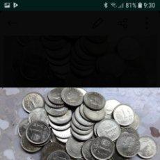 Monedas Juan Carlos I: LOTE 55 MONEDAS 1 UNA PESETA REY JUAN CARLOS ESPAÑA '82. Lote 143125100