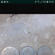 Monedas Juan Carlos I: 3 MONEDAS DEL REY JUAN CARLOS 25, 50 Y 100 PESETAS. Lote 143129689
