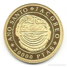 Monedas Juan Carlos I: ESPAÑA 20000 PESETAS ORO 1993 - AÑO SANTO JACOBEO 93. Lote 143138978