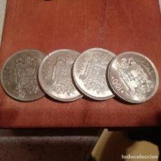 Monedas Juan Carlos I: LOTE DE 4 MONEDAS NUEVAS DE 100 PESETAS DE 1975 ESTRELLA 76. Lote 143182110