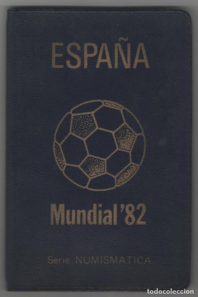 CARTERA NUMISMATICA MONEDAS -+MUNDIAL 82 ESTRELLA 80 (Numismática - España Modernas y Contemporáneas - Juan Carlos I)