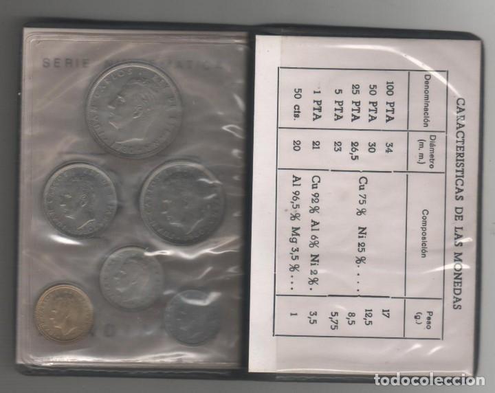 Monedas Juan Carlos I: Cartera Numismatica monedas -+Mundial 82 estrella 80 - Foto 3 - 143401242