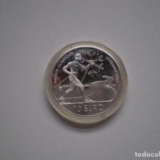 Monedas Juan Carlos I: MONEDA PLATA DE 10 EUROS 2002 ESPAÑA. JUEGOS OLIMPICOS INVIERNO SALT LAKE CITY. SC. Lote 143749934