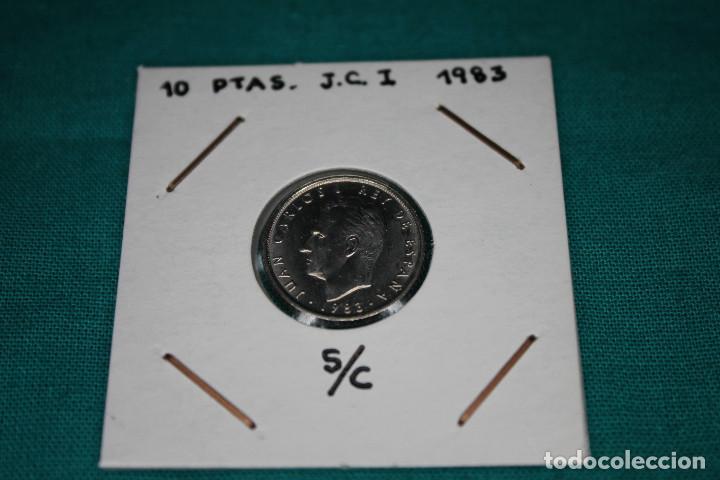 ESPAÑA 10 PESETAS JUAN CARLOS I 1983 S/C (Numismática - España Modernas y Contemporáneas - Juan Carlos I)