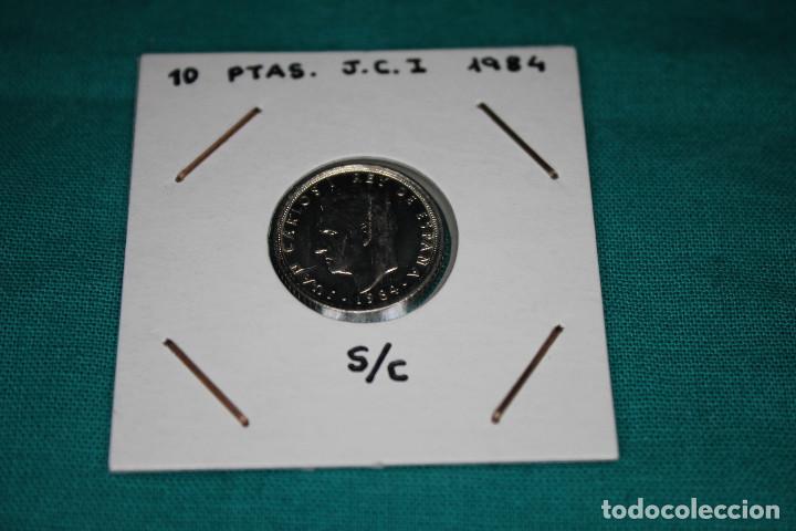 ESPAÑA 10 PESETAS JUAN CARLOS I 1984 S/C (Numismática - España Modernas y Contemporáneas - Juan Carlos I)