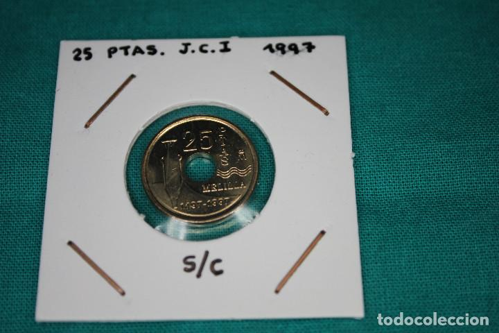 ESPAÑA 25 PESETAS 1997, PALACIO ASAMBLEA (MELILLA), SIN CIRCULAR. (Numismática - España Modernas y Contemporáneas - Juan Carlos I)