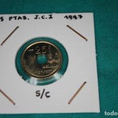 Monedas Juan Carlos I: ESPAÑA 25 PESETAS 1997, PALACIO ASAMBLEA (MELILLA), SIN CIRCULAR.. Lote 143851618