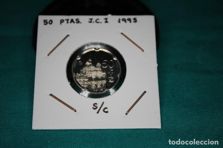 ESPAÑA 50 PESETAS JUAN CARLOS I 1995 S/C (Numismática - España Modernas y Contemporáneas - Juan Carlos I)
