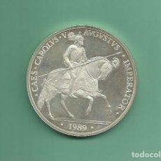 Monedas Juan Carlos I: PLATA-ESPAÑA. 5 ECU 1989. CARLOS V. 33,62 GR DE LEY 925 MILÉSIMAS. Lote 191912886