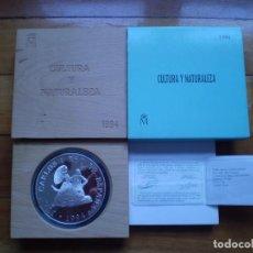 Monedas Juan Carlos I: 10000 PESETAS 1994 PLATA. CINCUENTÍN DE GOYA - CULTURA Y NATURALEZA. Lote 145173778