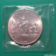 Monedas Juan Carlos I: 1997. 2000 PESETAS PLATA. CERVANTES. SC.. Lote 179328528