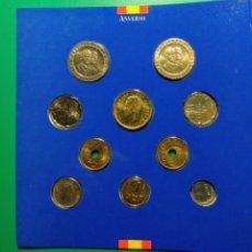 Monedas Juan Carlos I: ESPAÑA. 1992.CARTERA F.N.M.T. 10 MONEDAS. Lote 145646509