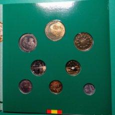 Monedas Juan Carlos I: ESPAÑA. 1993. CARTERA F.N.M.T., 8 MONEDAS.. Lote 145648062