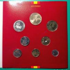 Monedas Juan Carlos I: ESPAÑA. 1996. CARTERA DE F.N.M.T. 8 MONEDAS.. Lote 145656561