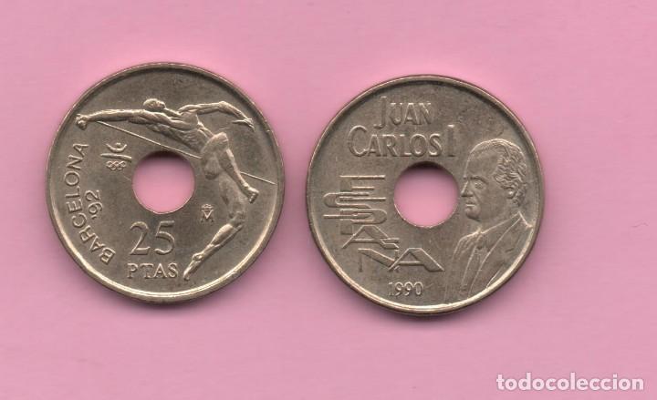 25 PESETAS 1990 (Numismática - España Modernas y Contemporáneas - Juan Carlos I)