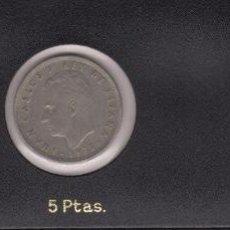 Monedas Juan Carlos I: 1975 JUAN CARLOS I 1977 1 PTA 5, 25 PTS. Lote 146185034