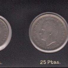Monedas Juan Carlos I: 1975 JUAN CARLOS I 1978 1 PTA 5,2, 25,50 PTS. Lote 146185114