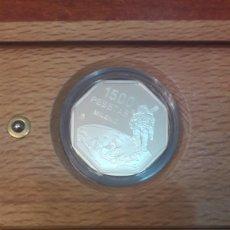 Monedas Juan Carlos I: ESPAÑA FNMT MILENIO 1999 1.500 PESETAS PLATA. Lote 146200288