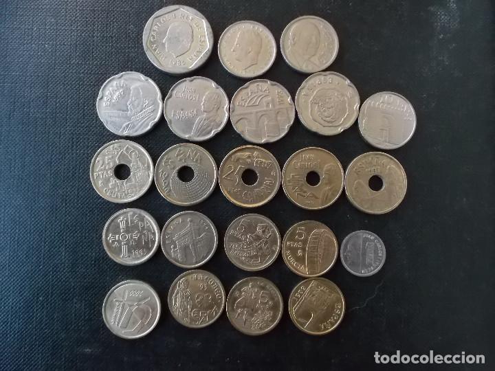 MONEDAS DE LOS 90 CONTEMPORANEAS JUAN CARLOS I (Numismática - España Modernas y Contemporáneas - Juan Carlos I)
