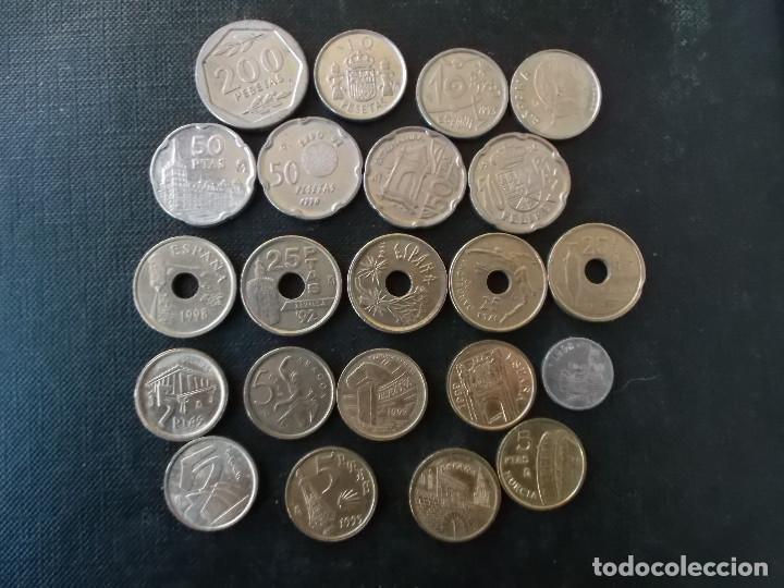 Monedas Juan Carlos I: monedas de los 90 contemporaneas Juan Carlos I - Foto 2 - 146839346