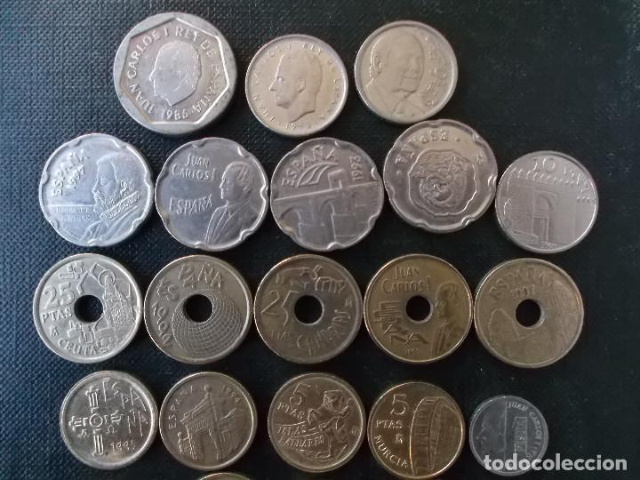 Monedas Juan Carlos I: monedas de los 90 contemporaneas Juan Carlos I - Foto 3 - 146839346