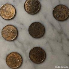 Monedas Juan Carlos I: 5 PTS-1975--VARIAS CONYSIN ESCUDO-1975.1980 (13€). Lote 148227794