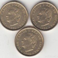 Monedas Juan Carlos I: JUAN CARLOS I: 100 PESETAS 1996 - ( 3 MONEDAS ) . Lote 148660970