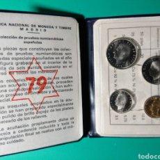 Monedas Juan Carlos I: CARTERA OFICIAL FNMT. PROOF. 1975 *79. JUAN CARLOS I.. Lote 149241006