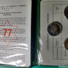 Monedas Juan Carlos I: CARTERA OFICIAL FNMT PROOF. 1975*77 JUAN CARLOS I.. Lote 149244113