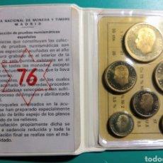 Monedas Juan Carlos I: CARTERA OFICIAL FNMT, PROOF. 1976 JUAN CARLOS I.. Lote 149264006