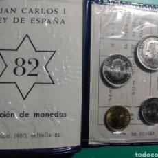 Monedas Juan Carlos I: CARTERA ANE. 1980 *82 JUAN CARLOS I.. Lote 149382934