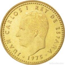 Monedas Juan Carlos I: COLECCION COMPLETA 1 PESETA 1975. (76 A 80). 5 MONEDAS. Lote 220850471