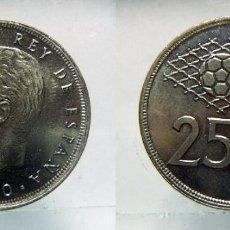 Monedas Juan Carlos I: MONEDA DE JUAN CARLOS I 25 PESETAS 1980*82 SC. Lote 149670170