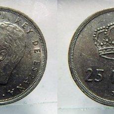 Monedas Juan Carlos I: MONEDA DE JUAN CARLOS I 25 PESETAS 1975*78. Lote 149670922