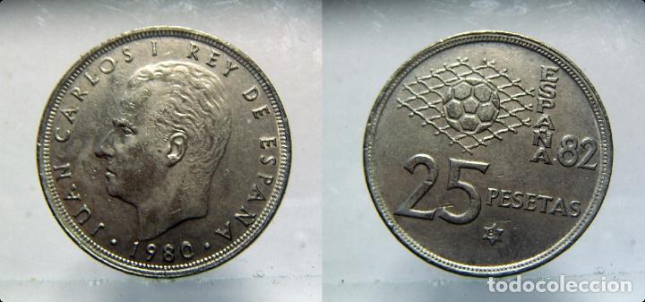MONEDA DE JUAN CARLOS I 25 PESETAS 1980*81 (Numismática - España Modernas y Contemporáneas - Juan Carlos I)