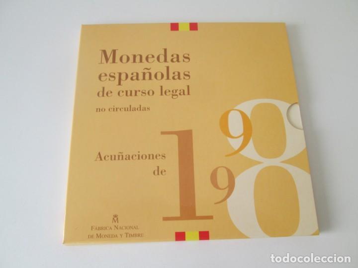 ESPAÑA * COLECCION DE MONEDAS ESPAÑOLAS DE CURSO LEGAL * 1998 S/C * TIN (Numismática - España Modernas y Contemporáneas - Juan Carlos I)