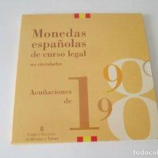 Monedas Juan Carlos I: ESPAÑA * COLECCION DE MONEDAS ESPAÑOLAS DE CURSO LEGAL * 1998 S/C * TIN . Lote 149706882