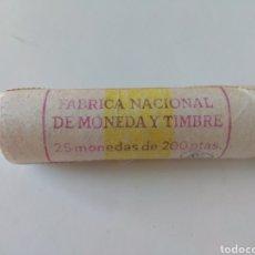 Monedas Juan Carlos I: CARTUCHO DE MONEDAS DE 200 PESETAS. Lote 149707413