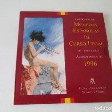 Monedas Juan Carlos I: ESPAÑA * COLECCION DE MONEDAS ESPAÑOLAS DE CURSO LEGAL * 1996 S/C * TI. Lote 149707434