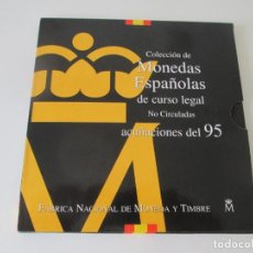 Monedas Juan Carlos I: ESPAÑA * COLECCION DE MONEDAS ESPAÑOLAS DE CURSO LEGAL * 1995 S/C * TI. Lote 149707758