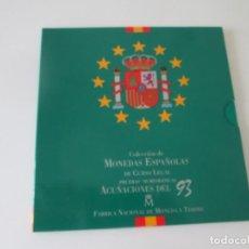 Monedas Juan Carlos I: ESPAÑA * COLECCION DE MONEDAS ESPAÑOLAS DE CURSO LEGAL * 1993 S/C * TI. Lote 149708334
