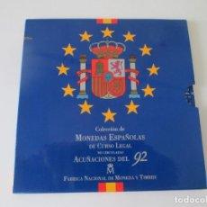 Monedas Juan Carlos I: ESPAÑA * COLECCION DE MONEDAS ESPAÑOLAS DE CURSO LEGAL * 1992 S/C * TI. Lote 149708594
