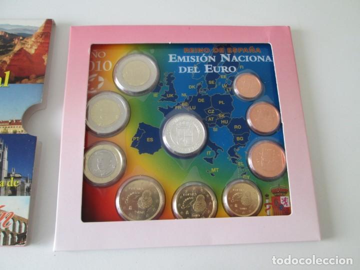 Monedas Juan Carlos I: ESPAÑA * EMISION NACIONAL DEL EURO * 2010 * CASTILLA Y LEON ** TIN - Foto 2 - 149709382