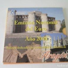 Monedas Juan Carlos I: ESPAÑA * EMISION NACIONAL DEL EURO * 2008 * ARAGON ** TIN. Lote 149709730