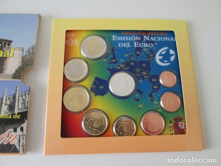 Monedas Juan Carlos I: ESPAÑA * EMISION NACIONAL DEL EURO * 2008 * ARAGON ** TIN - Foto 2 - 149709730